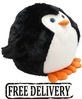 Cozytime Penguin Fluffy Faux Fur Giant Hand Warmer