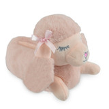 Girls Cute Poodle Soft Faux Fur Cosy Lining 3D Novelty Slippers: Pink