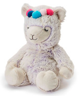 Warmies Cozy Plush Lilac Marshmallow Llama Fully Microwavable Toy