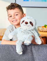 Warmies Cozy Plush Marshmallow Sloth Fully Microwavable Toy