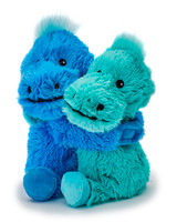 Warmies Cozy Plush Warm Hugs Dinosaurs Mini Fully Microwavable Toys