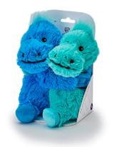 Warmies Cozy Plush Warm Hugs Dinosaurs Mini Fully Microwavable Toys
