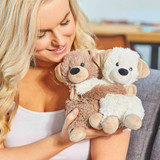 Warmies Cozy Plush Warm Hugs Puppies Mini Fully Microwavable Toys