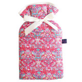 Strawberry Thief Red Liberty Print Padded 2L Hot Water Bottle