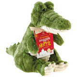 Aroma Home Crocodile Snuggable Hottie Heatable Toy