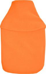 Plain Orange Cosy Fleece 2L Hot Water Bottle & Cover