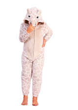 Boys Novelty Hood Rhino Cosy Grey Fleece Onesie