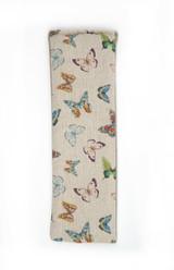 Lavender or Unscented Cotton & Fleece Wheat Bag: Exotic Butterflies