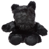 Snuggables Black Scotty Dog Microwaveable Wheat Pack Toy
