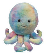 Cozytime Rainbow Octopus Fluffy Faux Fur Giant Hand Warmer