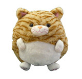 Cozytime Tabby Cat Fluffy Faux Fur Giant Hand Warmer