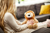 Warmies Cozy Plush Lion Fully Microwavable Toy