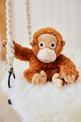 Warmies Cozy Plush Orangutan Fully Microwavable Toy