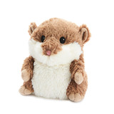 Warmies Cozy Plush Brown Hamster Fully Microwavable Toy
