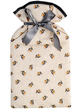 Bumble Bees Padded Cotton Cover 2L Hot Water Bottle