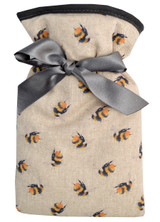 Bumble Bees Cotton Cover Mini 0.5L Hot Water Bottle