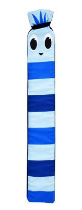 Blue Stripey Bug Cosy Fleece Long 2L Hot Water Bottle