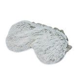 Warmies Cozy Body Grey Marshmallow Fur Microwavable Eye Mask