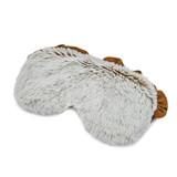 Warmies Cozy Body Beige Marshmallow Fur Microwavable Eye Mask