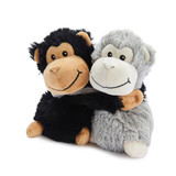 Warmies Cozy Plush Warm Hugs Monkeys Mini Fully Microwavable Toys