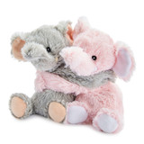 Warmies Cozy Plush Warm Hugs Elephants Mini Fully Microwavable Toys