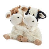 Warmies Cozy Plush Warm Hugs Cows Mini Fully Microwavable Toys