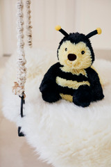 Warmies Cozy Plush Bumble Bee Fully Microwavable Toy
