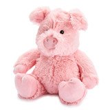 Warmies Cozy Plush Pig Fully Microwavable Toy