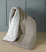 Beige Micro-Touch Reversible Ready Quilt / Throw Combi 150x200cm