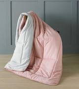 Pink Micro-Touch Reversible Ready Quilt / Throw Combi 150x200cm