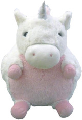 Cozytime White Unicorn Fluffy Faux Fur Giant Hand Warmer
