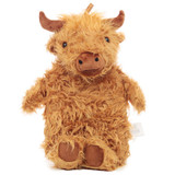 Snuggables Highland Cow 1L Novelty Cover Hot Water Bottle
