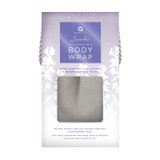 Aroma Home Grey Cord Lavender Body Wrap ~ Boxed