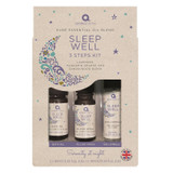 Aroma Home Pure Essential Oil Blends Sleep Well 3 Steps Kit