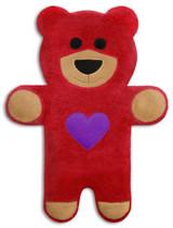 Teddy The Red Heart Bear Heatable Tummy & Body Warmer Pillow
