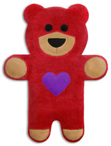 Teddy The Red Heart Bear Heatable Tummy & Body Warmer Pillow