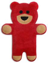 Teddy The Red Bear Heatable Tummy & Body Warmer Pillow