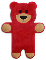 Teddy The Red Bear Heatable Tummy & Body Warmer Pillow