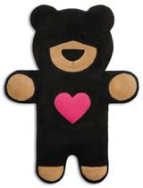 Teddy The Black Heart Bear Heatable Tummy & Body Warmer Pillow