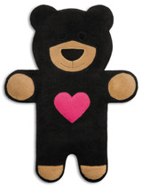 Teddy The Black Heart Bear Heatable Tummy & Body Warmer Pillow