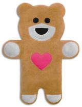 Teddy The Sand Heart Bear Heatable Tummy & Body Warmer Pillow