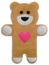 Teddy The Sand Heart Bear Heatable Tummy & Body Warmer Pillow