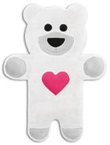 Teddy The Snow Heart Bear Heatable Tummy & Body Warmer Pillow