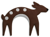 Flora the Brown Fawn Unscented Heatable Neck Warmer Pillow