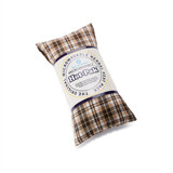 Warmies Beige Tartan Hot Pak Microwavable Lavender Wheat Bag