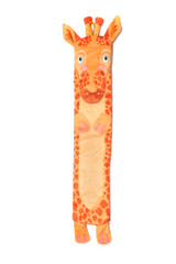 Wild Warmers Giraffe Fleece Cover Long Hot Water Bottle