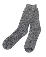 Mens Marl Grey Therma Feet Extra Warm Thermal Socks