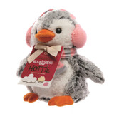 Aroma Home Cute Penguin Snuggable Hottie Heatable Toy