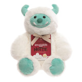 Aroma Home Abominable Snowman Snuggable Hottie Heatable Toy