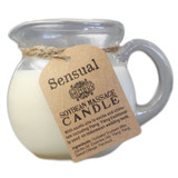 Bamboo Soybean Pouring Massage Candle: Sensual Blend